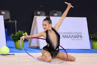 Χρυσό η Δερβίση, ασημένιο το ανσάμπλ στο 4ο διεθνές τουρνουά ρυθμικής γυμναστικής «Aphrodite Cup»