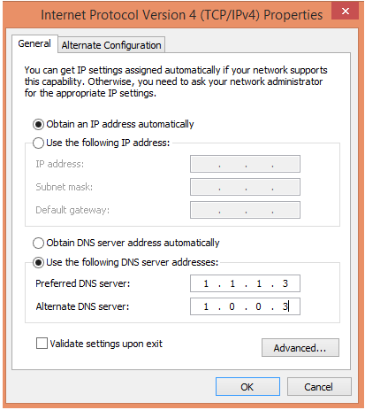 Malware and Adult Content filter in Cloudflare