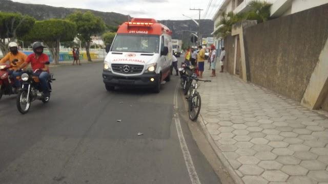 SMTT registra Acidente de trânsito envolvendo três veículos na avenida Lomanto Júnior.