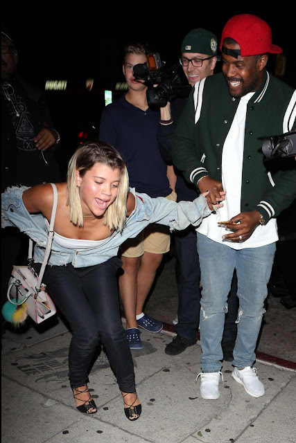 Sofia Richie at The Nice Guy in West Hollywood