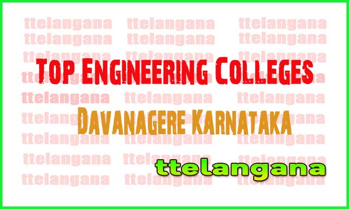 Top Engineering Colleges in Davanagere Karnataka