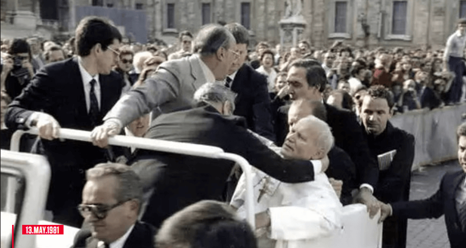 On this day in the history; May 13, 1981, an unexpected event shocked Catholics around the world.