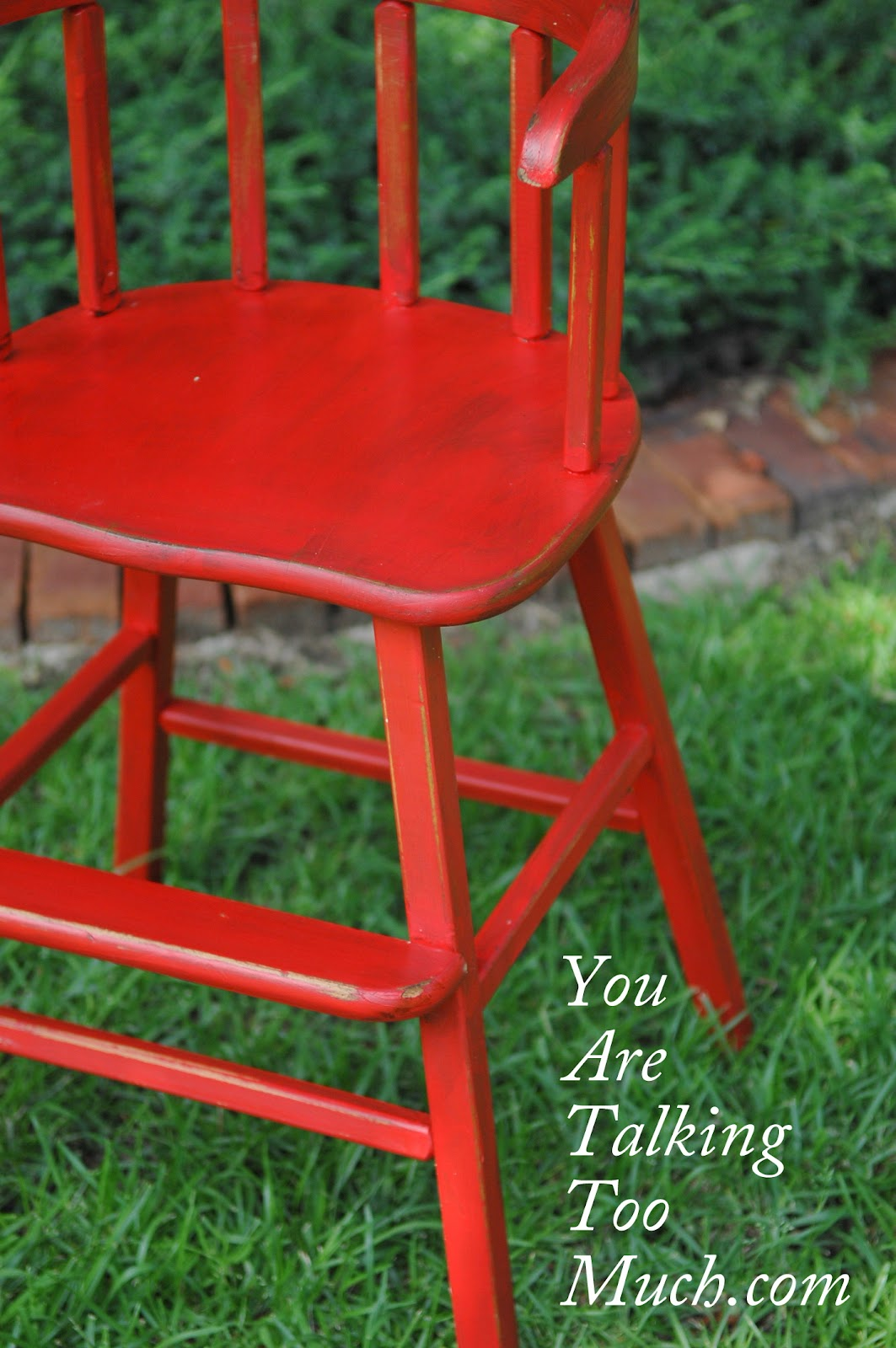 Red High Chair The Quotnot So Perfect Quot Red High Chair You Are Talking Too Much