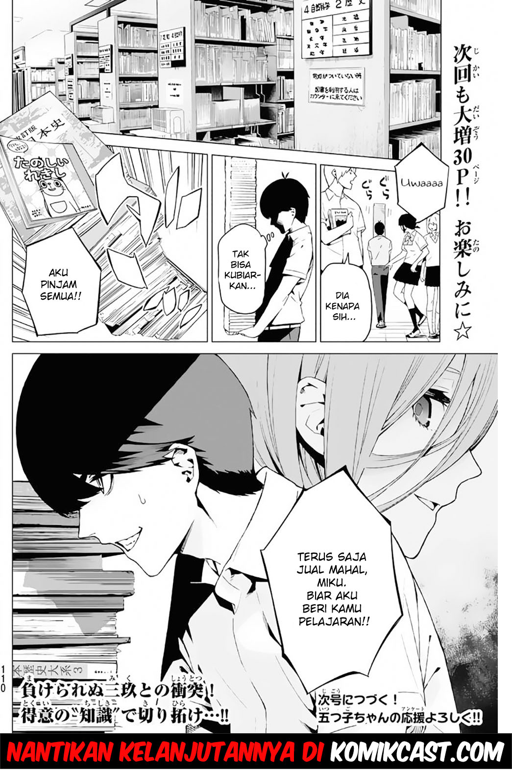 Baca Manga Go-toubun No Hanayome Chapter 3 Bahasa Indonesia