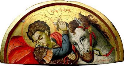 Ο Άγιος Μεγαλομάρτυς Γεώργιος ο Τροπαιοφόρος