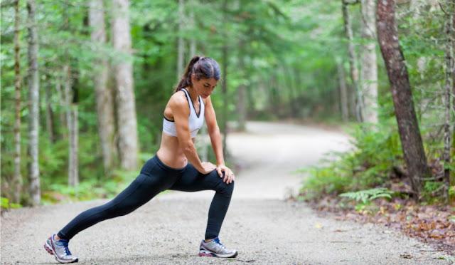 como estirar correr