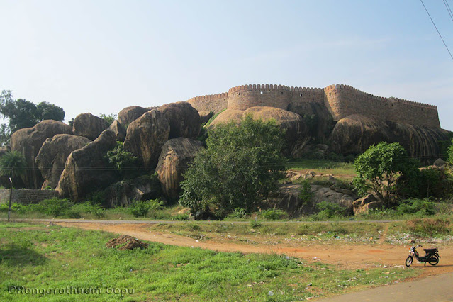 Thirumayam Fort Things to do in Pudukottai
