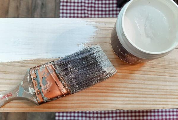 brush on paint