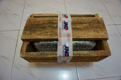 packing kayu jne