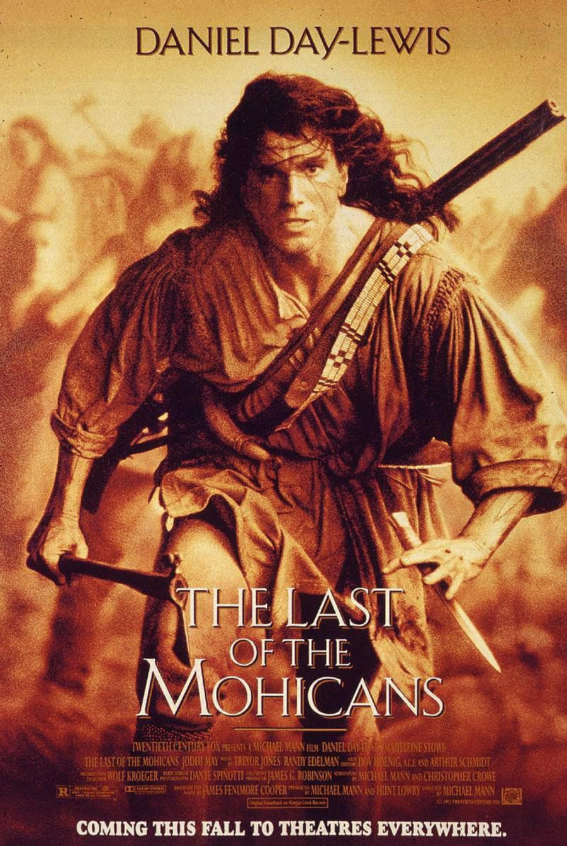 Download The Last of the Mohicans (1992) Full Movie in Hindi Dual Audio BluRay 720p [1GB]