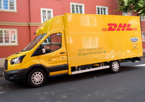 Tinuku.com DHL and Ford unveiled StreetScooter Work XL electric van