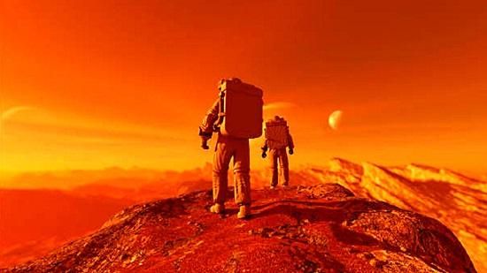 Viaje a Marte 2033
