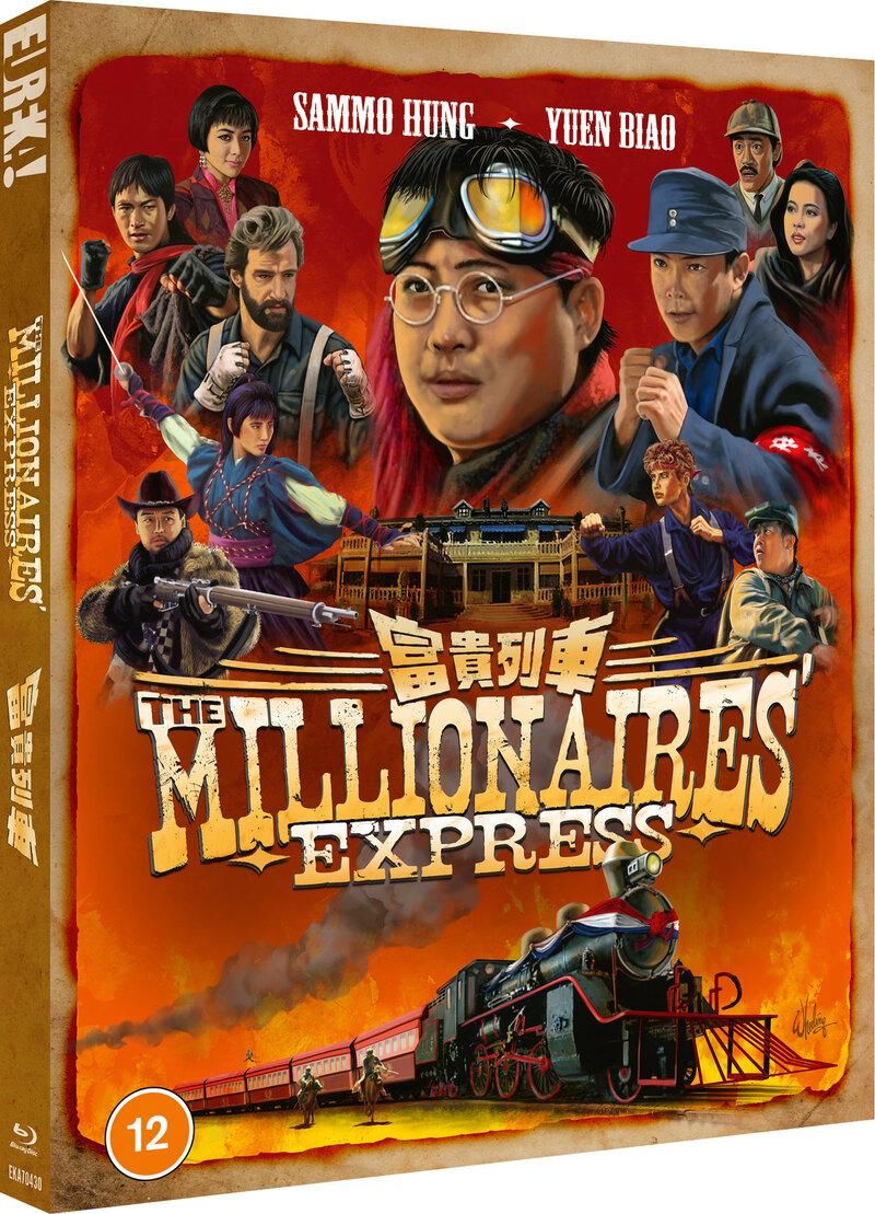 The Millionaire's Express bluray