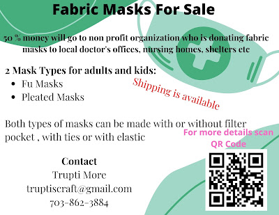 Fabric Masks for Sale
