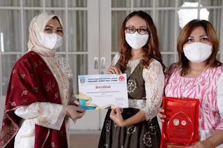 Dekranasda Humbahas Raih Juara Pertama Lomba Cerita Wastra 2021 Tingkat Provinsi Sumut