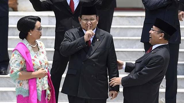 Novel Bamukmin: Prabowo Telah Kumat Kembali ke Penyakit Lamanya