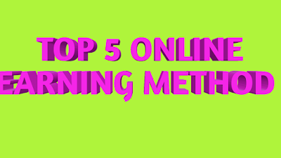 best online earning method