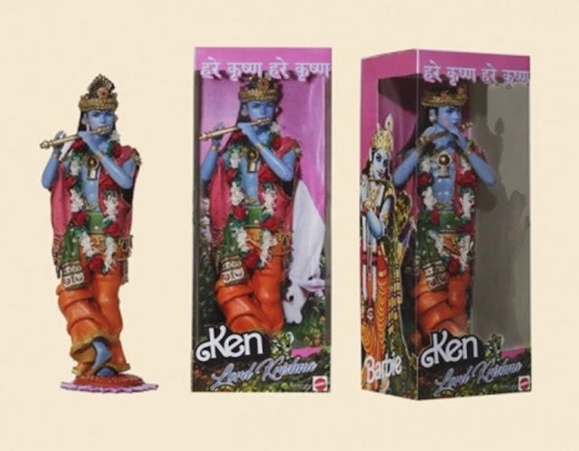 bonecas barbie modificadas, bonecas personalizadas, bonecas barbie religiosas, barbie baphomet, boneca barbie baphomet, boneco krisnha