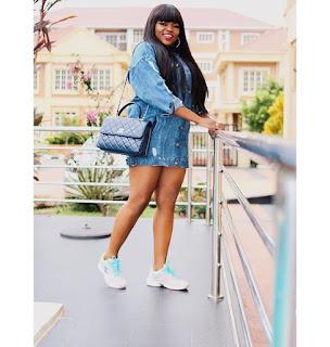 Funke Akindele Is Flawless In Denim