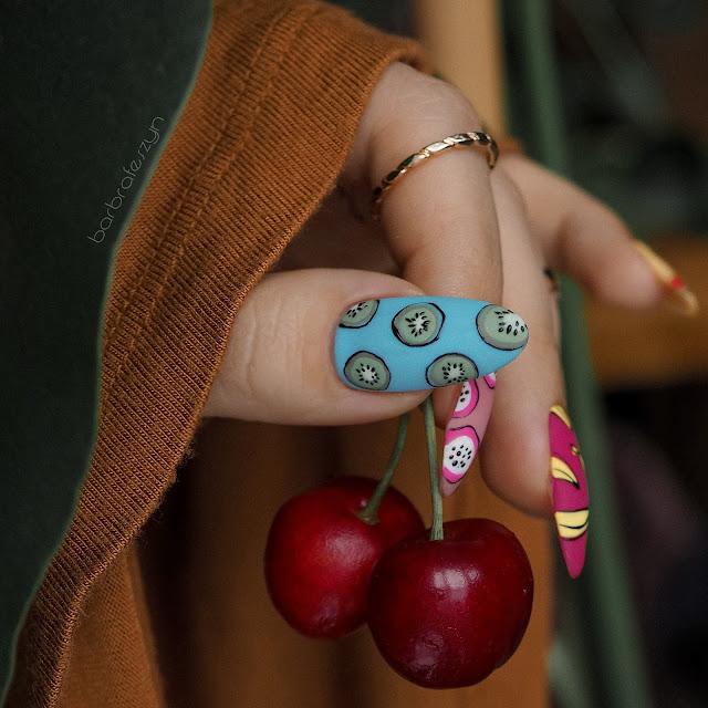 paznokcie kiwi