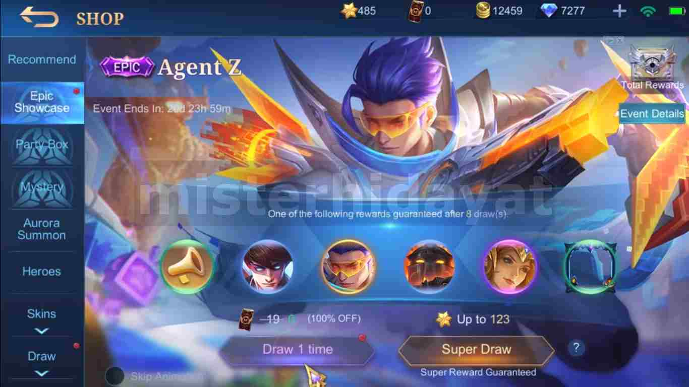 Review Skin Epic Granger Agent Z Mobile Legends