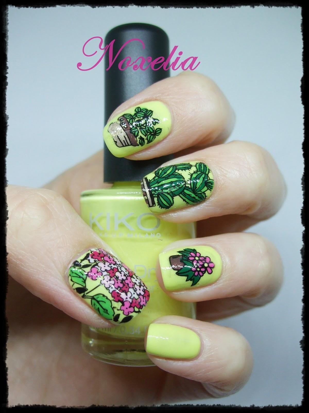 Noxelia: Stamping nail art: Colaboración con Harunouta VI. Look de ...