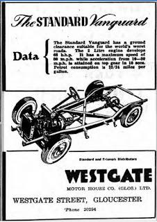 Westgate Standard Vanguard. Gloucester Citizen, 22-09-1949