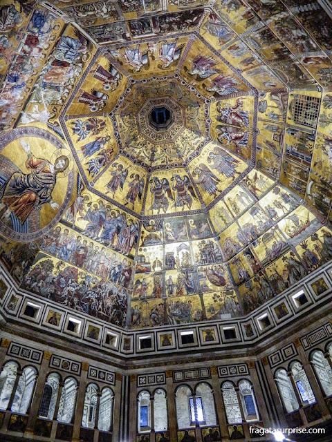 mosaico O Juízo Final, Batistério de Florença