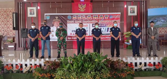 Kepala BNNP Sumsel Bangga Dengan Bupati Ogan Ilir Kukuhkan Relawan Anti Nakoba di Setiap Desa. !!