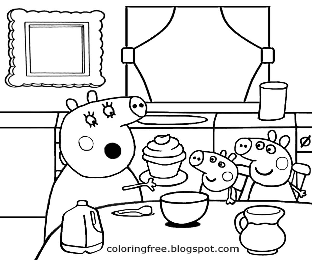 Free Coloring Pages Printable Pictures To Color Kids