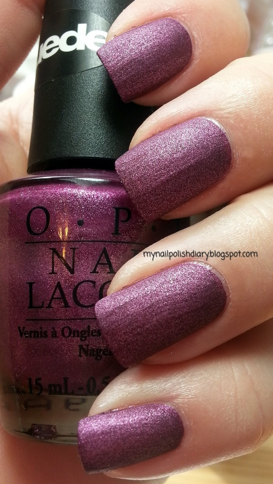 My Nail Polish Diary Opi We Ll Always Have Paris Suede