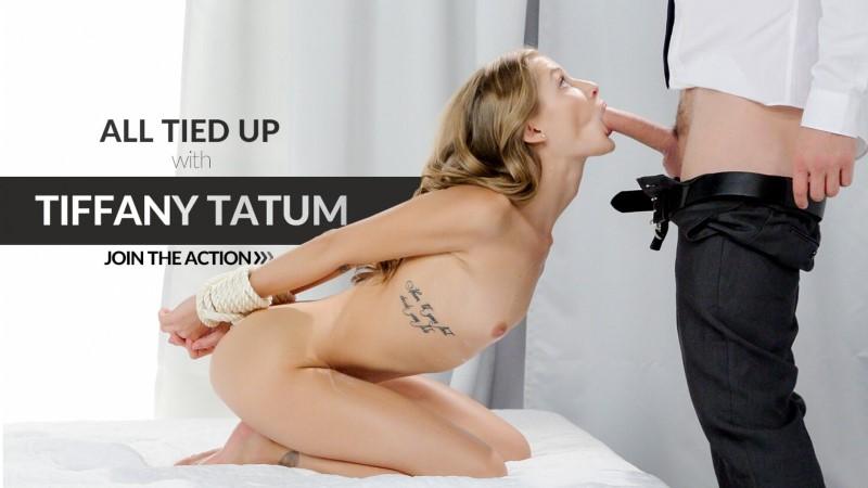 LETSDOEIT – Sexy woman sucks dick while bound – Tiffany Tatum