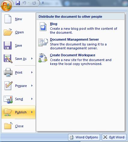 Bagian Bagian MS Word 13