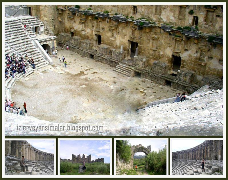 Aspendos Antik Kenti Tarihi : Aspendos antik kenti