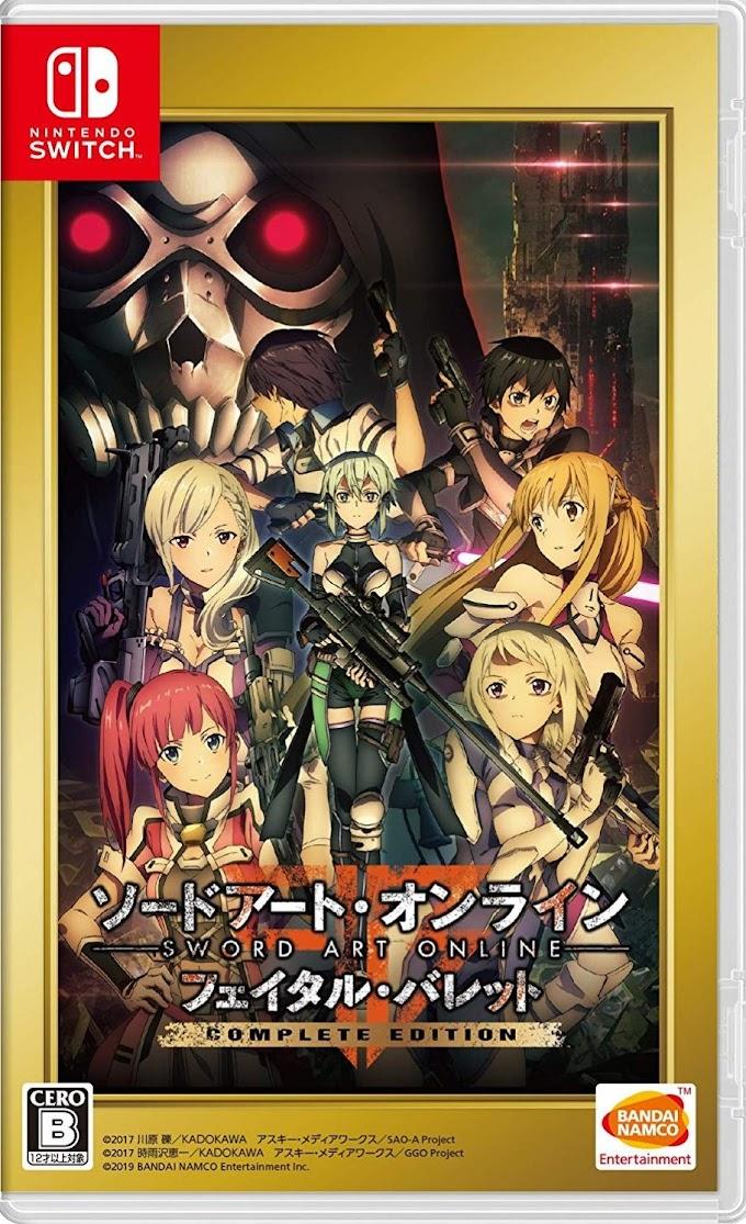 Sword Art Online: Fatal Bullet Complete Edition (Switch) [NSP/XCI