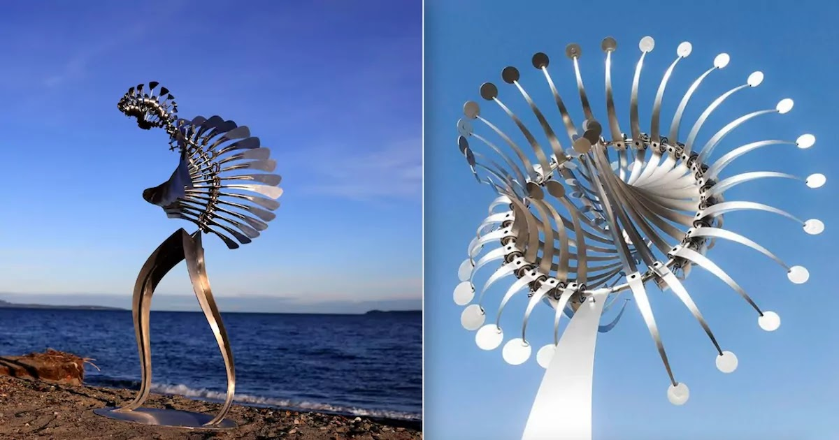 This Sculptor Builds Amazing Installations That Move With The Power Of The Wind