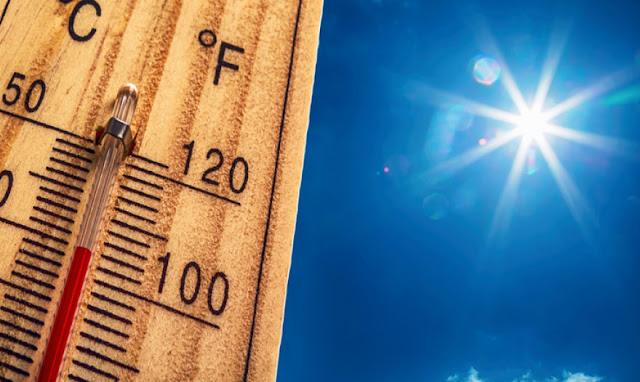 Έκτακτο Δελτίο Επιδείνωσης Καιρού για τις υψηλές θερμοκρασίες των επομένων ημερών