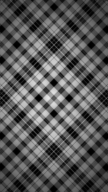 Samsung Galaxy S5 Wallpaper Pattern Black Plaid Covers Heat