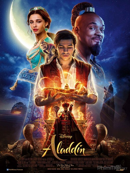 Aladdin va cay den than - Aladdin Live-Action 2019 Vietsub
