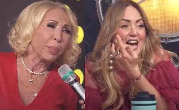 """Laura Bozzo explota en contra Andrea Legarreta en plena transmisión por """"reírse"""" de ella"""
