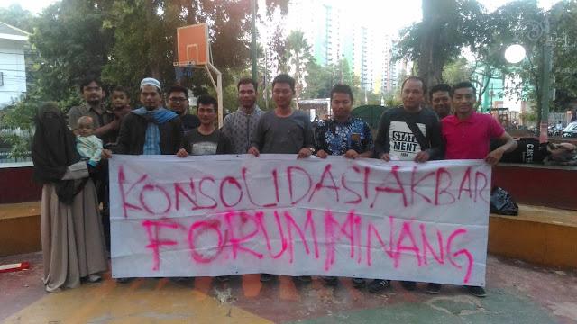 Forum Awak Minang Sampaikan 5 Tuntutan Kepada Presiden