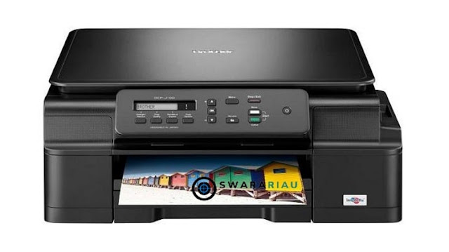 Setting Koneksi WiFi Printer Brother MFC-J200