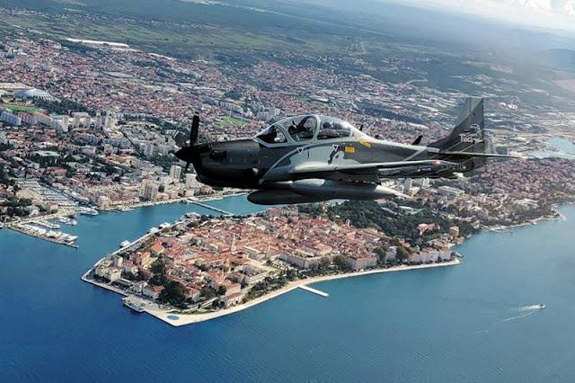 Embraer Super Tucano Croazia