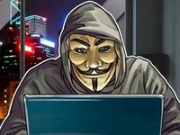 Изображен хакер, сидящий за ноутбуком