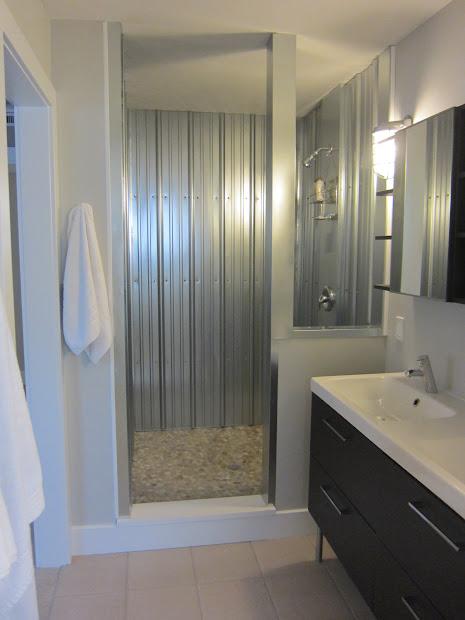 Corrugated Metal Panels Showers