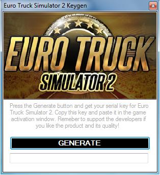 Euro Truck Simulator Activation Key