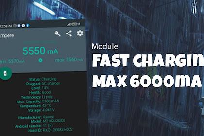 Module Magisk Fast Charging Ryujin max 6000mA Snapdragon 33Watt