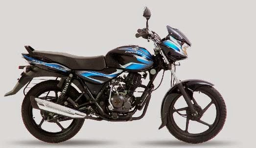 Bajaj Discover 100 Midnight Black & Blue