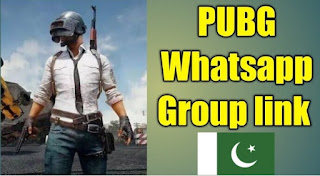 PUBG Whatsapp Group Link Pakistan