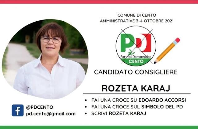 Rozeta Karaj, un'altra albanese che si candida alle elezioni di ottobre